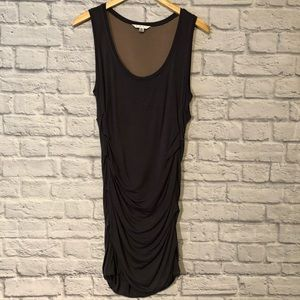 CAbi style # 586 Rouched knit tank dress